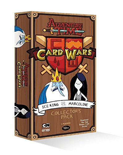Adventure Time Card Wars Ice King Vs Marceline Deck