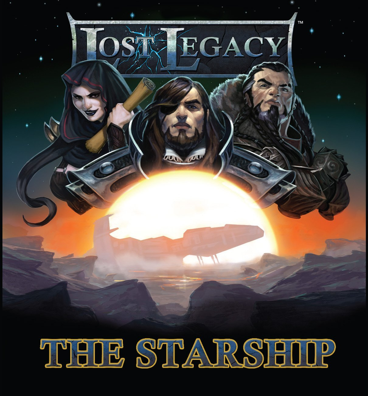 AEG Lost Legacy 1 The Starship