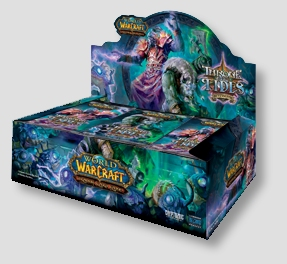 World of Warcraft TCG Aftermath: Throne of the Tides Booster Case