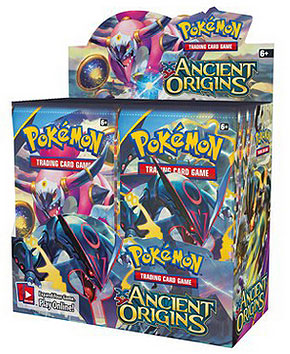 Pokemon XY Ancient Origins Booster Case