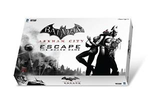 Arkham City Escape Board Game