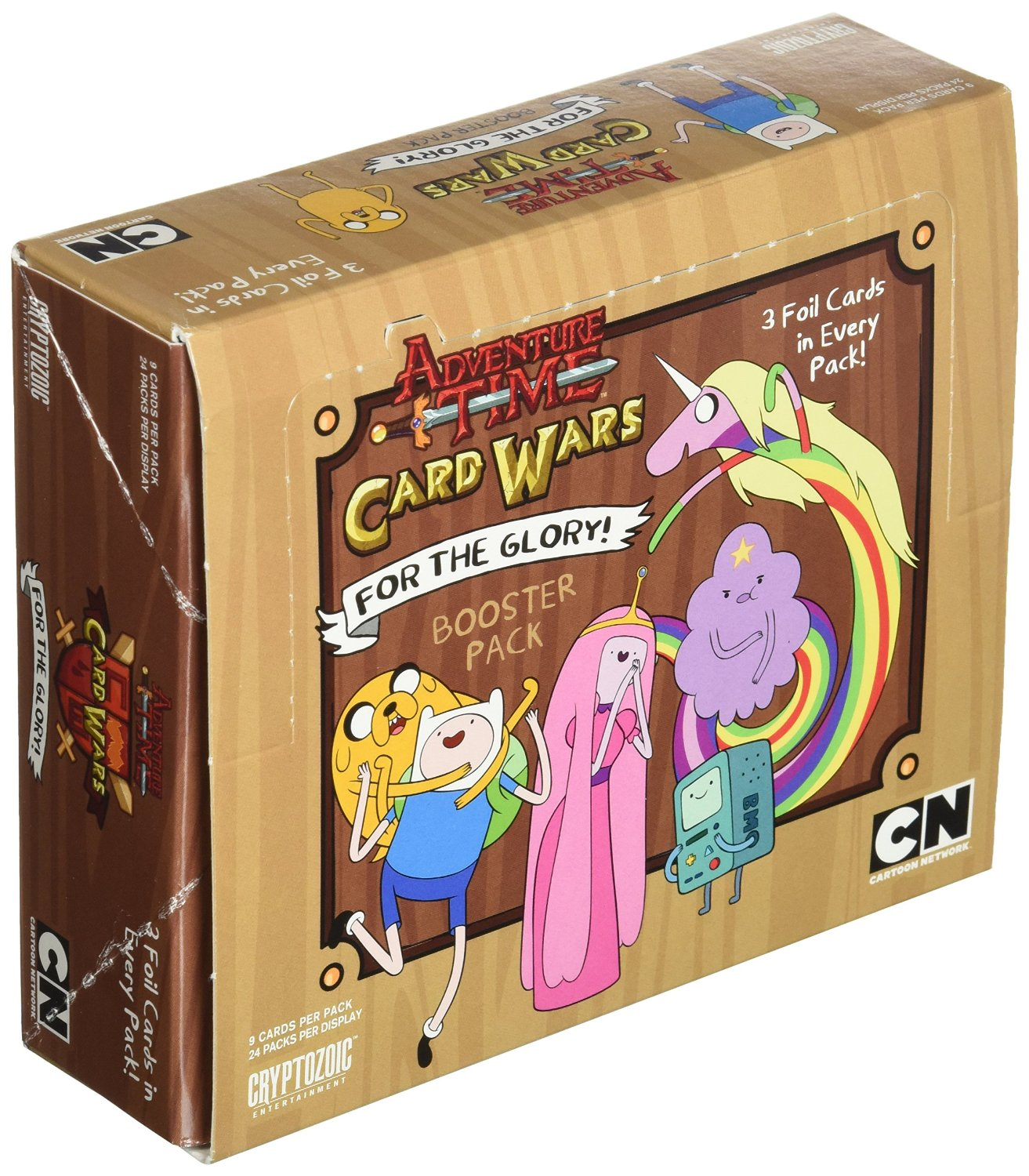 Adventure Time Card Wars For the Glory Booster Box