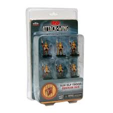 Attack Wing: Dungeons and Dragons Wave One - Sun Elf Guard Troop Expansion Pack