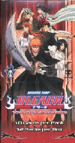 Bleach TCG Lot of 4 Booster Boxes: Portal, Premiere, Seireitei, & Soul Society