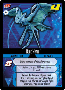 Dot Hack Blue Wyrm 4S84 Foil Card