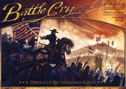Battle Cry 150th Civil War Anniversary Edition Board Game