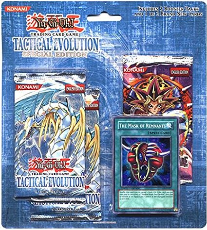 Yu-Gi-Oh! Tactical Evolution SE 3-pack Blister w/ The Mask of Remnants Promo