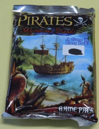 Pirates of the Mysterious Islands Lot of 9 Booster Packs