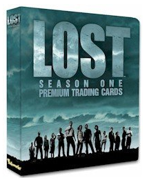 Inkworks Lost Season 1 Trading Cards Collectible Binder