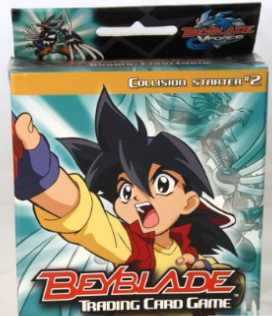 BeyBlade Trading Card Game Collision Starter #2
