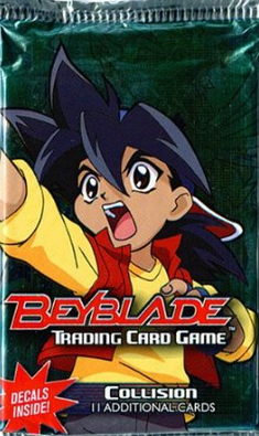 BeyBlade Trading Card Game Collision Booster Pack