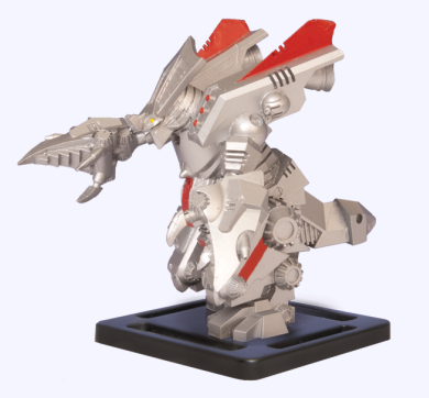 Monsterpocalypse Mega Gorghadratron Promo Figure