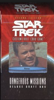 Star Trek Dangerous Missions Deluxe Draft James T. Kirk Deck
