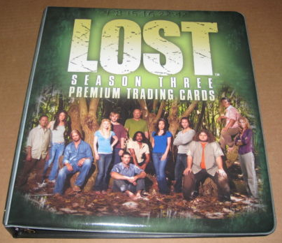 Inkworks Lost Season 3 Collectible Binder