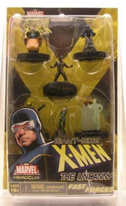 Marvel HeroClix Miniatures: Giant Size X-Men The Uncanny Fast Forces Pack