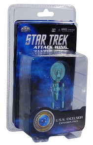 Star Trek Attack Wing Federation USS Excelsior Expansion Pack
