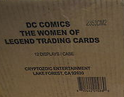 Cryptozoic DC Women of Legend Trading Cards Case