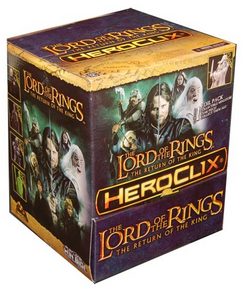 LOTR HeroClix Miniatures: The Return of the King 24ct Counter-top Display