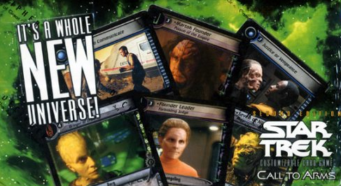 Star Trek 2nd Edition Call to Arms Booster Box