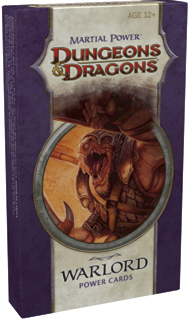D&D Martial Power Warlord Power Cards Pack