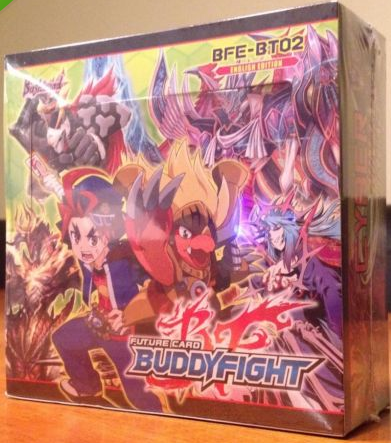 Future Card Buddy Fight BFE-BT02 Cyber Ninja Squad Booster Box