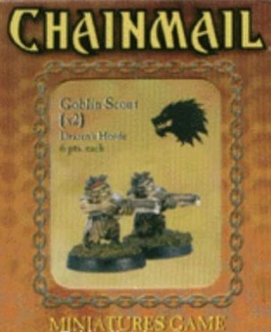 D&D Miniatures Chainmail Goblin Scout Drazen's Horde