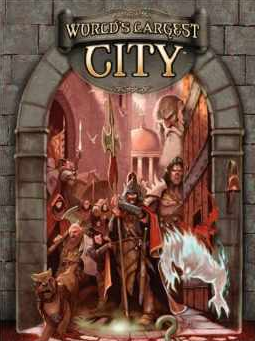 World's largest City RPG Book