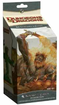 D&D Miniatures Against the Giants Huge Booster Pack