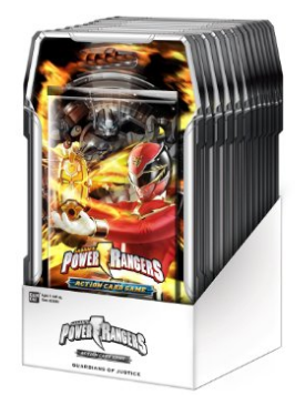 Bandai Power Rangers CCG Guardians of Justice 15ct Booster Box