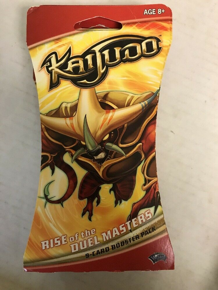 Kaijudo Rise of the Duelmasters Lot of 24 Sleeved Booster Packs