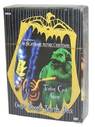 Neca Nightmare Before Christmas Trading Card Game Oogie Boogie Starter Deck