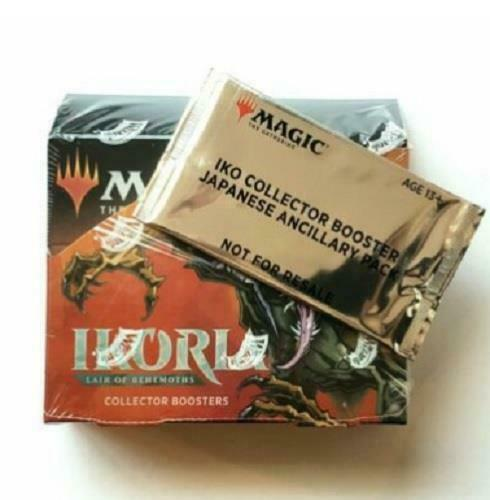 MTG Ikoria Collector Booster Box w/ Japanese Ancillary Pack