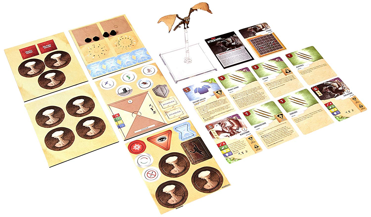 Attack Wing: Dungeons and Dragons Wave Three - Wyvern Expansion Pack