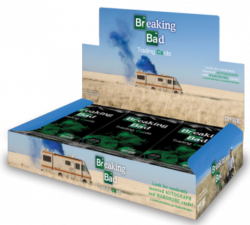 Cryptozoic Breaking Bad Seasons 1-5 Trading Cards Box