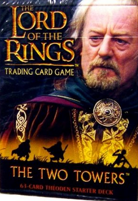 LOTR Two Towers Theoden Starter Deck