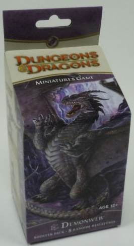 D&D Miniatures Demonweb Booster Pack