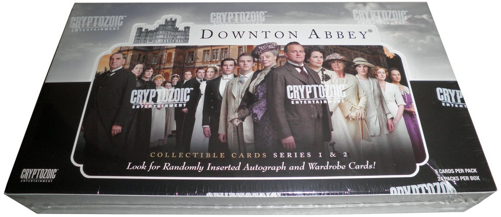 Cryptozoic Downton Abbey Series 1 & 2 Trading Card Box