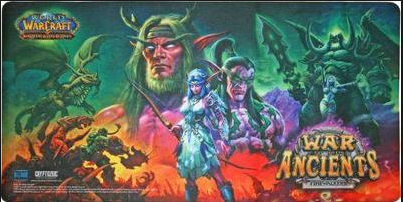 World of Warcraft TCG War of the Ancients Playmat