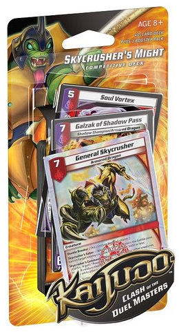 Kaijudo Invasion Earth Chotens Army Starter Deck