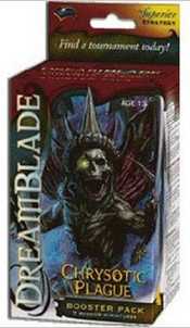 Dreamblade Collectible Miniatures Game Chrysotic Plague Booster Pack