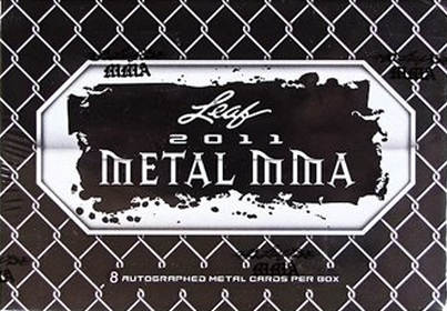 Leaf Metal Mixed Martial Arts 2011 Box