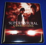 Inkworks Supernatural ConnectionsTrading Cards Collectible Binder
