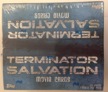 Topps Terminator Salvation Movie Card Box