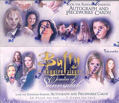 Inkworks Buffy the Vampire Slayer Women of Sunnydale Trading Card Box