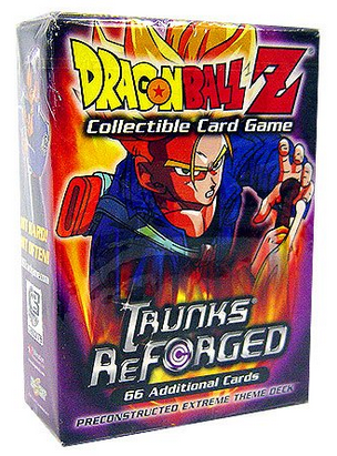 Dragonball Z CCG Trunks Reforged Deck