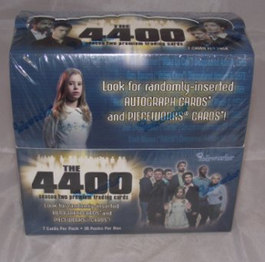 Inkworks The 4400 Season 2 Trading Cards HOBBY Box