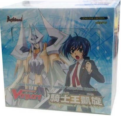 Cardfight!! Vanguard VGE-BT10 'Triumphant Return of the King of Knights' Booster Box