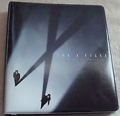 Inkworks The X Files Premium Trading Card Binder