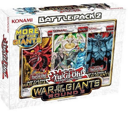 Yu-Gi-Oh! Battle Pack 2: War of the Giants Round 2 Gift Set