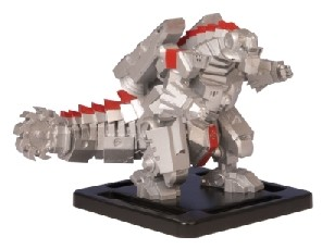 Monsterpocalypse Mega Cyber Khan Promo Figure